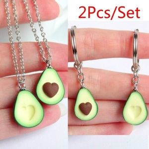 🎉FLASH SALE🎉 BFF avocado necklace OR key chains